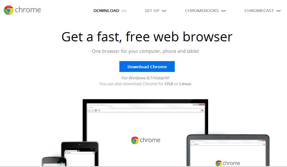 Installing Google Chrome on Windows