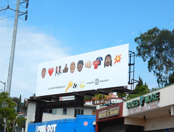 Key and Peele season 5 emoji billboard