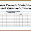 Download Contoh Format Administrasi Sekolah Inventaris Barang Terbaru 2018/2019