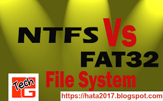 NTFS VS FAT32 file system