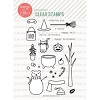 Essentials by Ellen Bear Ware 2 stamp set
