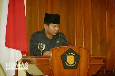 Plt Bupati Trenggalek: Catatan-Catatan DPRD Dibutuhkan untuk Memperbaiki Kinerja Pemerintah Daerah