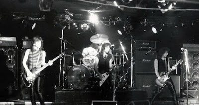 Max on stage at the Stone Pony 1978