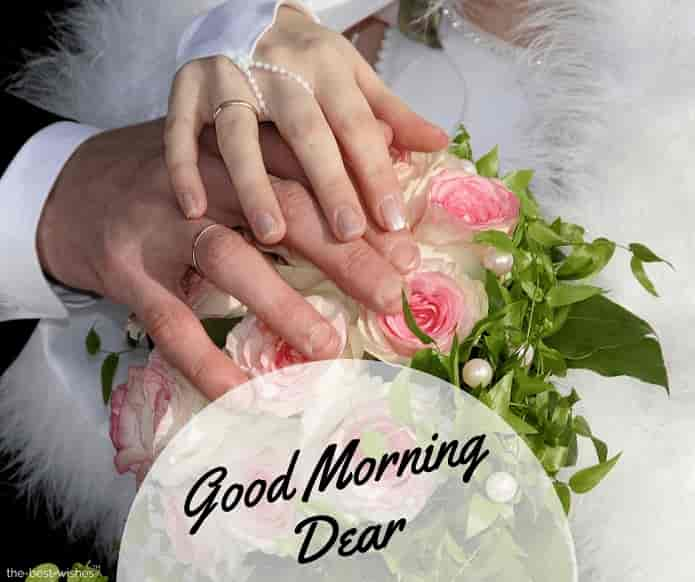 good morning dear hubby