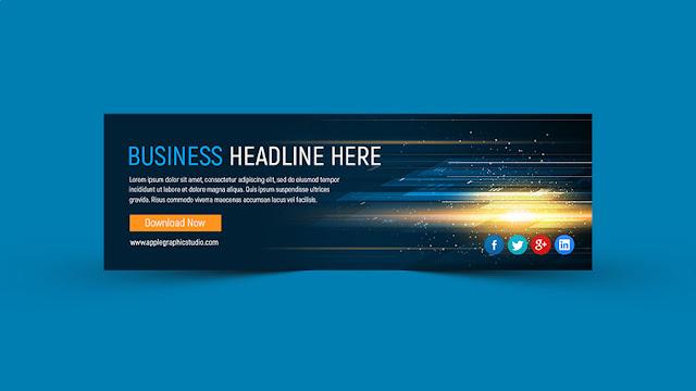 banner-design Abstract Website Slider Banner Design - Photoshop CC Tutorial download