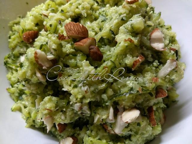 Zucchini Halwa