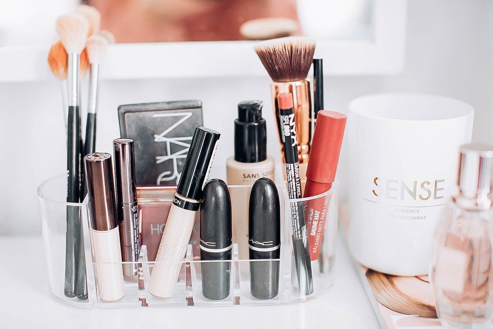 Meine Ideen Zur Makeup Aufbewahrung Und Dekoration