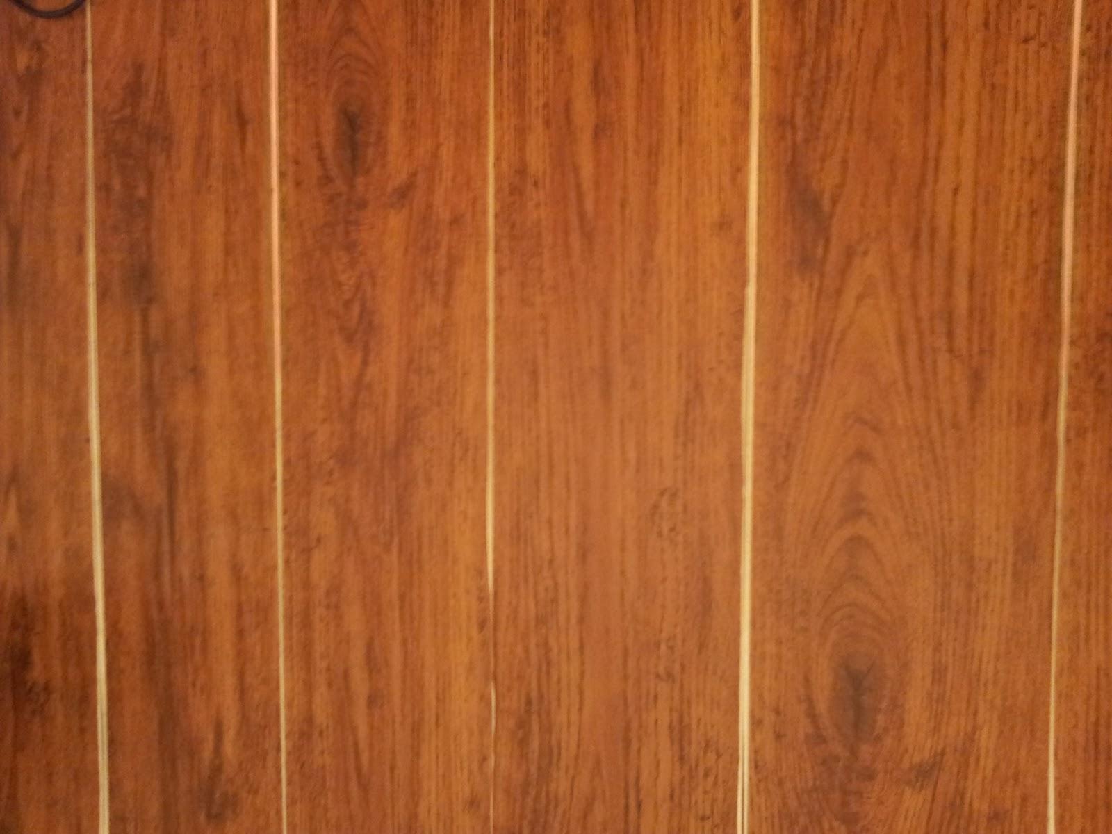 Vinyl Laminate Flooring As Wall Sign