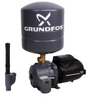 Daftar harga dan spesifikasi  pompa air merk GrundFos JD basic 3