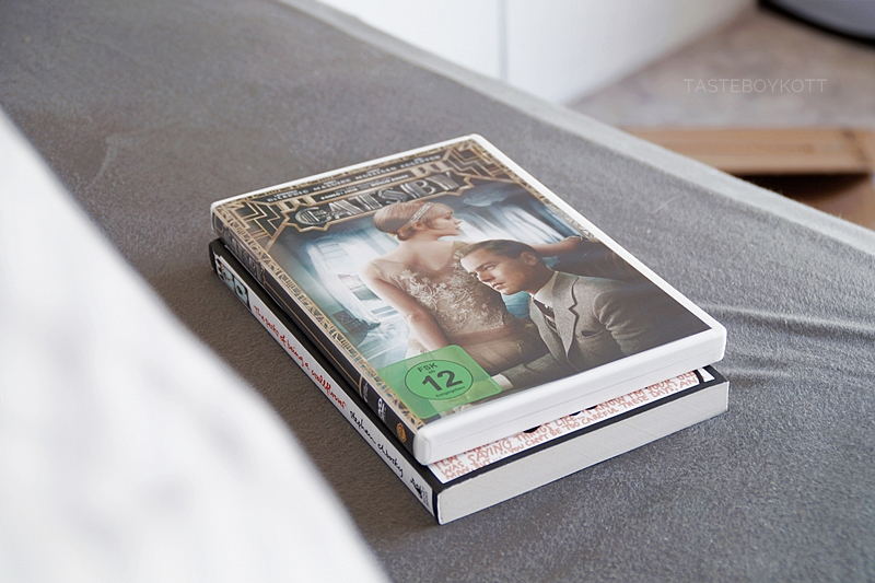 "The Great Gatsby auf DVD und Stephen Chboskys Jugendbuch ""The Perks of Being a Wallflower"" aus meiner letzten Amazon-Bestellung 