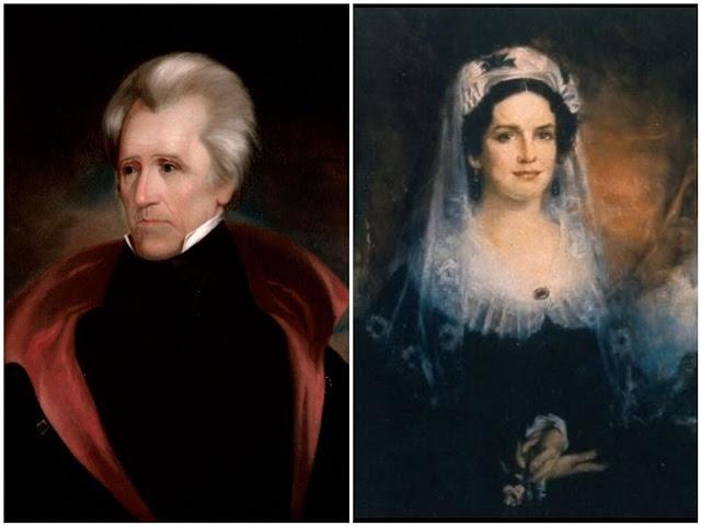 Kisah Cinta Andrew Jackson dan Rachel Donelson