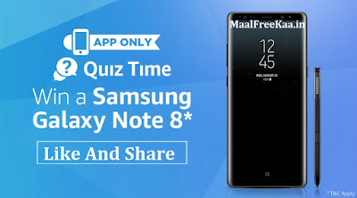 Quiz Time Free Samsung Galaxy Note 8