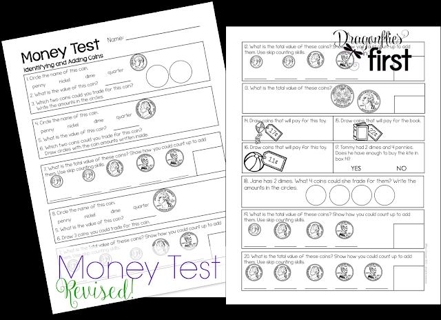 Freebielicious: Money Poem and Test Freebie!
