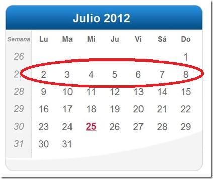Semana Calendario.Semana Calendario Imagui