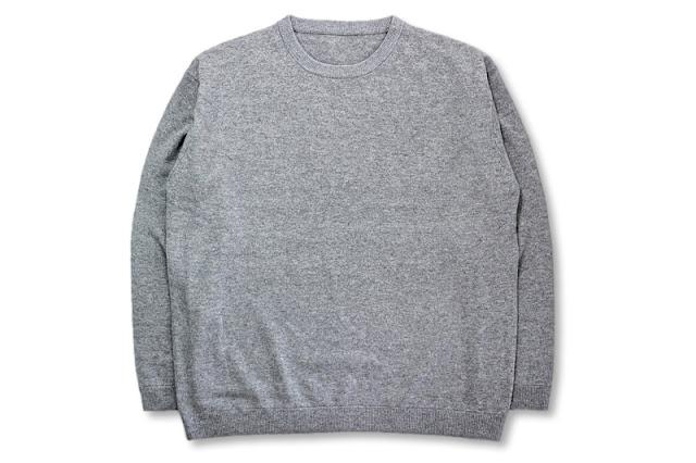 crepuscule [ クルーネックニット ] Gray