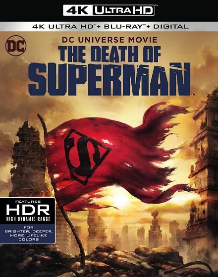 The Death Of Superman 4K (La Muerte de Superman 4K) (2018) 2160p 4K UltraHD HDR BluRay REMUX 41GB mkv Dual Audio DTS-HD 5.1 ch