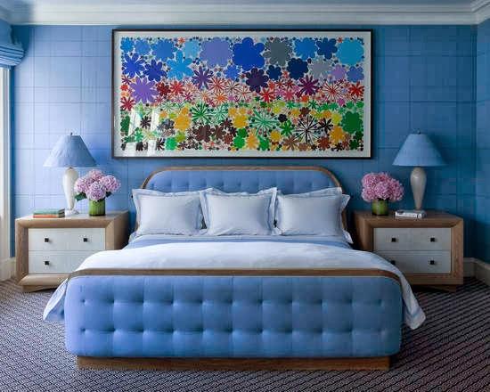 Periwinkle Bedroom Minimalist Color Blue Bedrooms