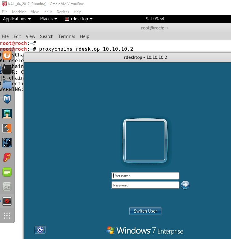 Whitelist: SSH Tunneling (III): DYNAMIC port forwarding with PROXYCHAINS