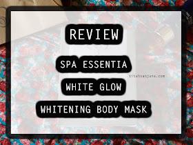 SPA ESSENTIA WHITE GLOW WHITENING BODY MASK