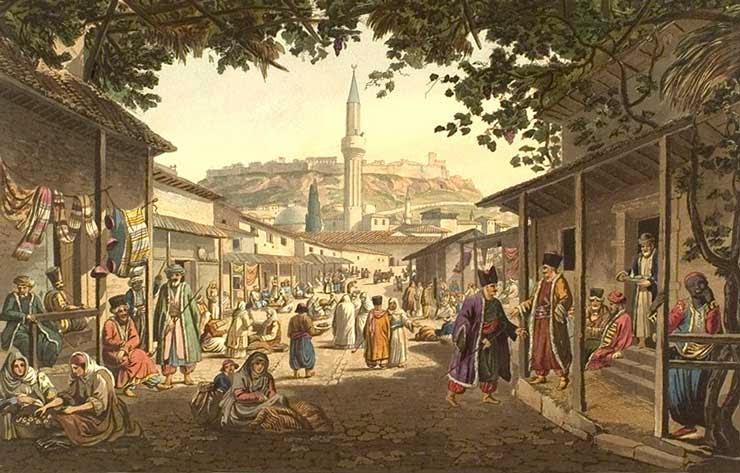 Το παζάρι των Αθηνών στις αρχές του 19ου αιώνα