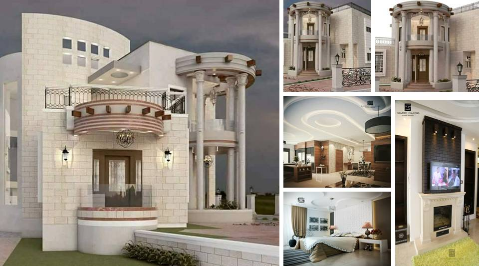 Modern Interior And Exterior VILLA Designs - Decor Units