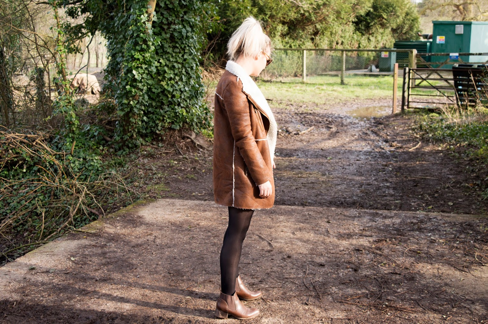 70s style zara dress diary of a brit girl