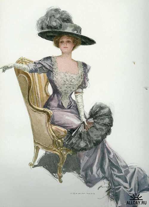 Коллекция картинок Иллюстрации Харрисона Фишера
