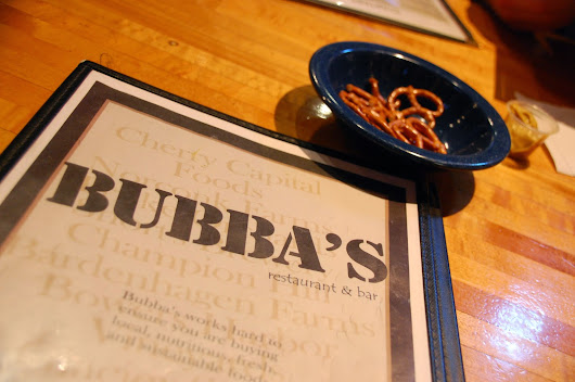 Eating Out in TC: Bubba's