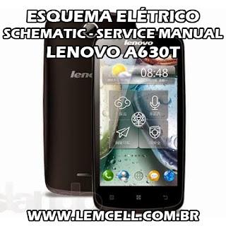 Esquema Elétrico Smartphone Celular Lenovo A630T Manual de Serviço Service Manual schematic Diagram Cell Phone Smartphone Lenovo A630T Esquema Eléctrico Smartphone Celular Lenovo A630T Manual de servicio