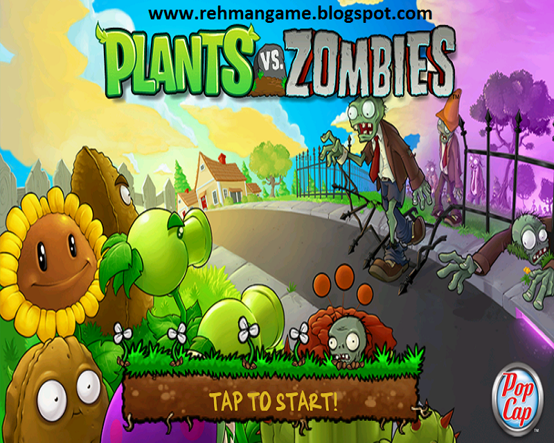 Plant Vs Zombie Game For Pc