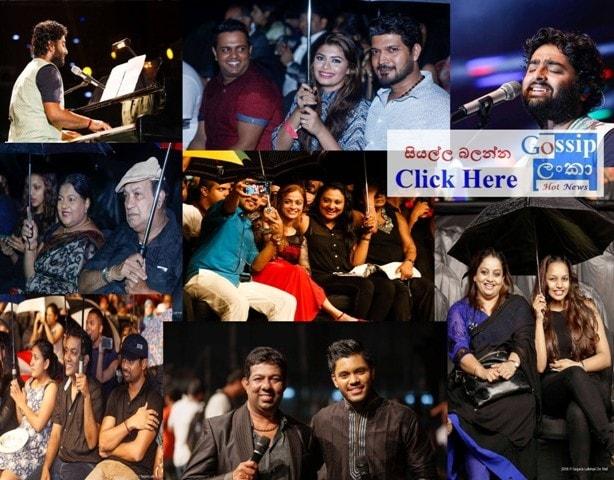 singer Arijit Singh live in concert Colombo