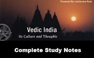 SSC & Railway History Notes: Vedic Culture