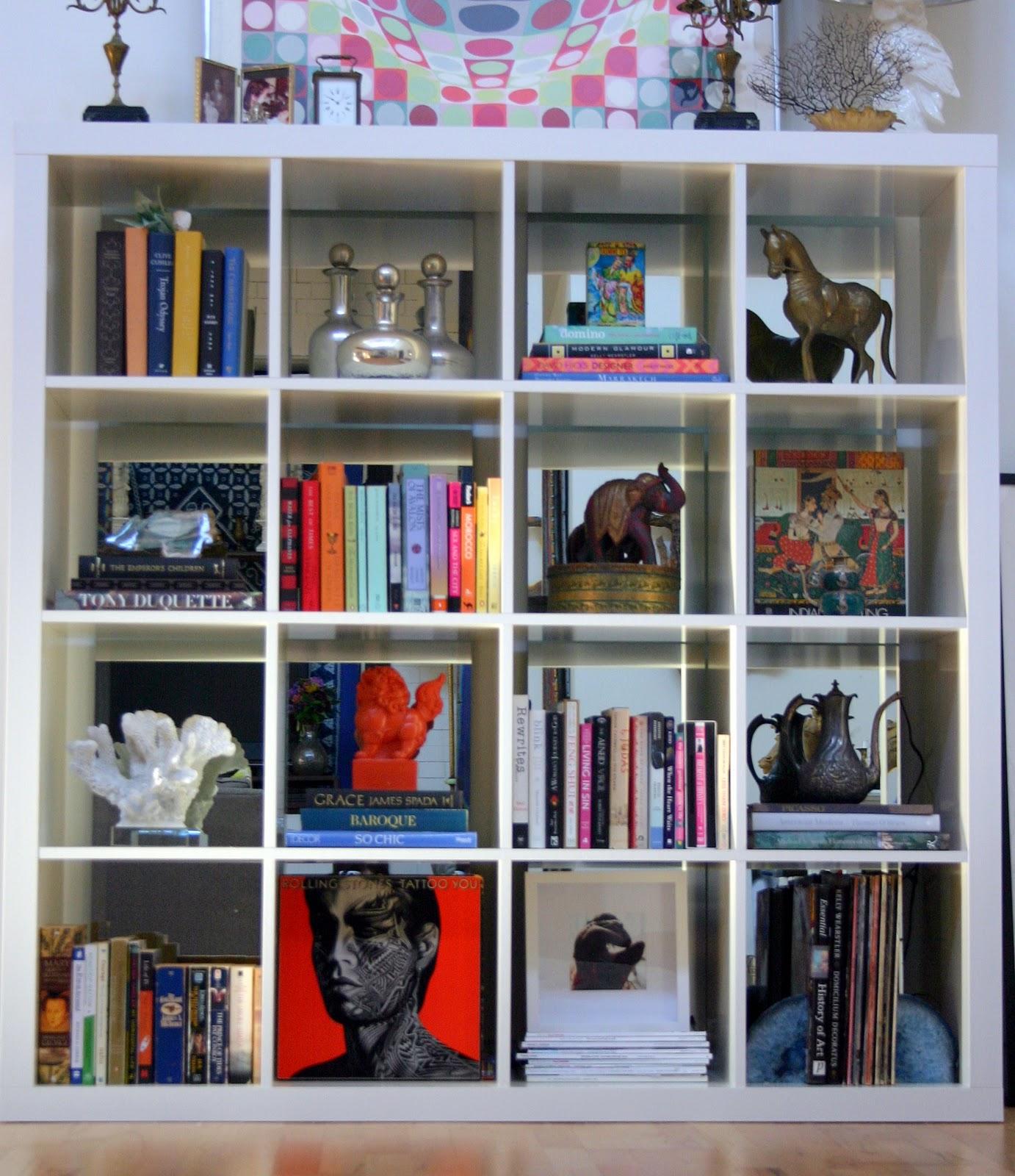 Bookshelf Decor | The Flat Decoration