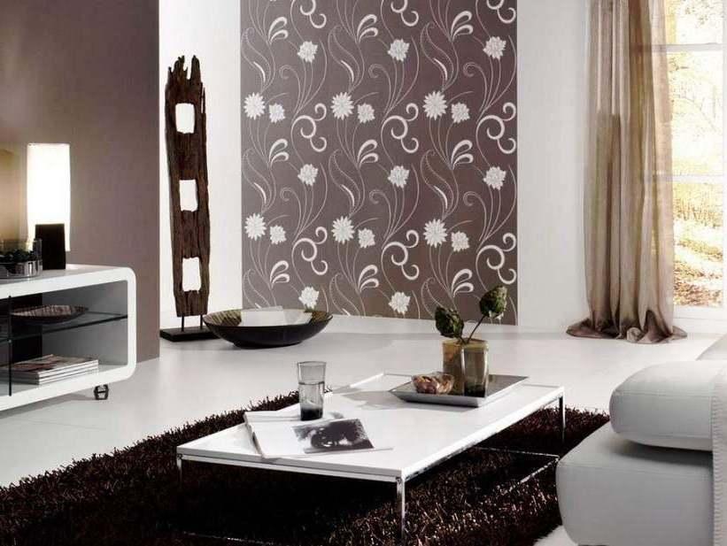 Wallpaper Dinding Interior Ruang Tamu Minimalis