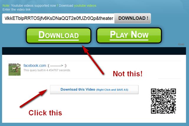 download video dari fb lite dengan downvids