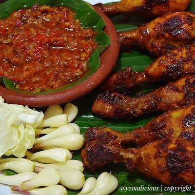 Resep dan Cara membuat ayam bakar teflon
