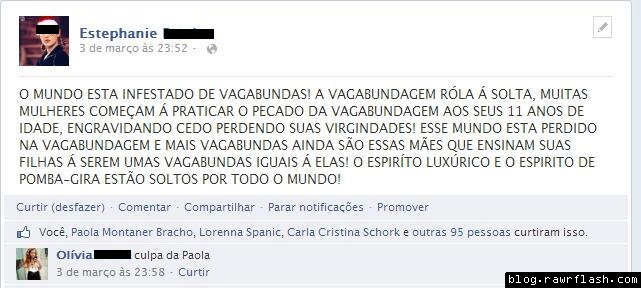 textão de facebook