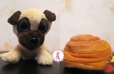 Мягкая игрушка мопс Sweet Pups Buddy Roll
