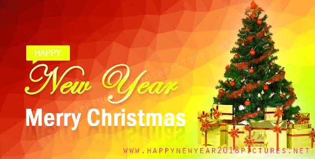 Happy New Year 2018 and Merry Christmas