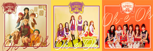 エイプリル april oh e oh single comeback