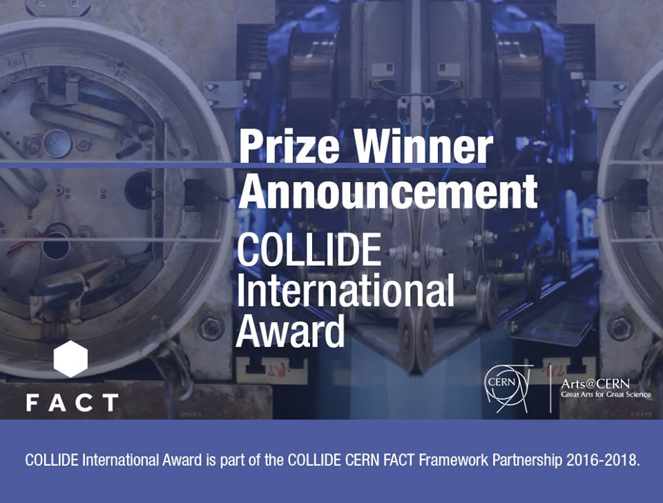 We made CERN Collide International Artist Award Shortlist!