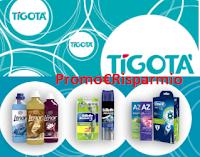 Logo Concorso ''Puoi vincere card Tigotà con P&G'': vinci 1.500 buoni spesa da 25€