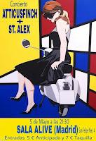 Concierto de Atticusfinch y St. Alex en Sala Alive