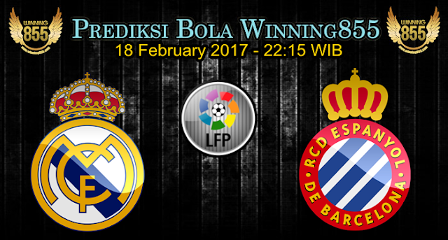 Prediksi Skor Real Madrid vs Espanyol 18 February 2017