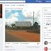 Cantor Di Ferrero posta em sua conta do Facebook outdook do colégio Convergente de Limoeiro