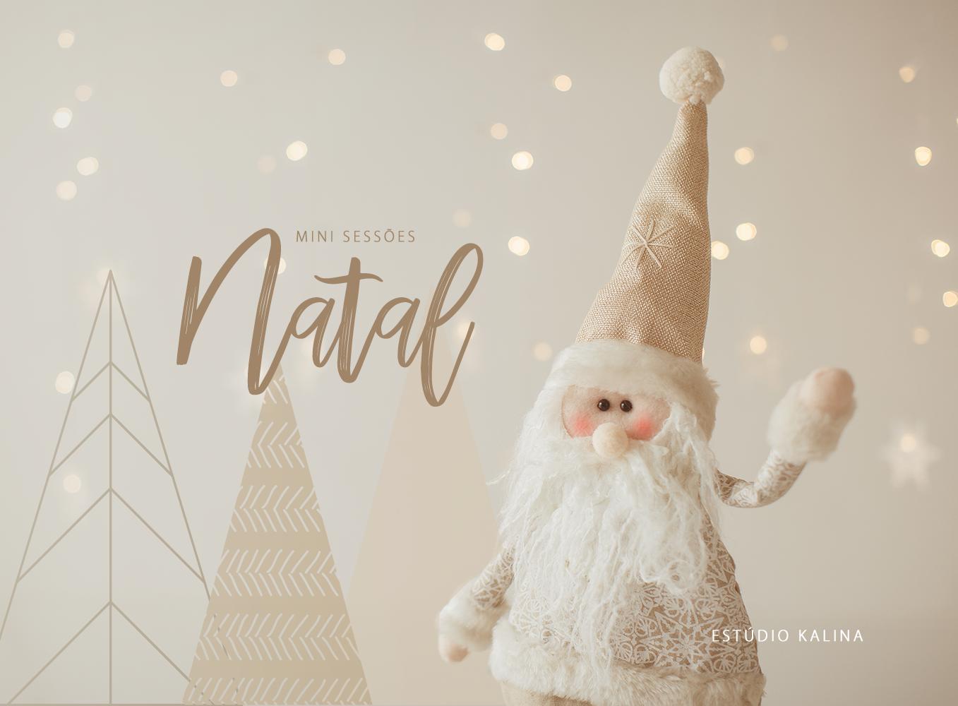 Mini Sessões de Natal Joinville