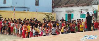 Ban giáo lý CĐ Thánh Danh tổ chức hội chợ hè 2013