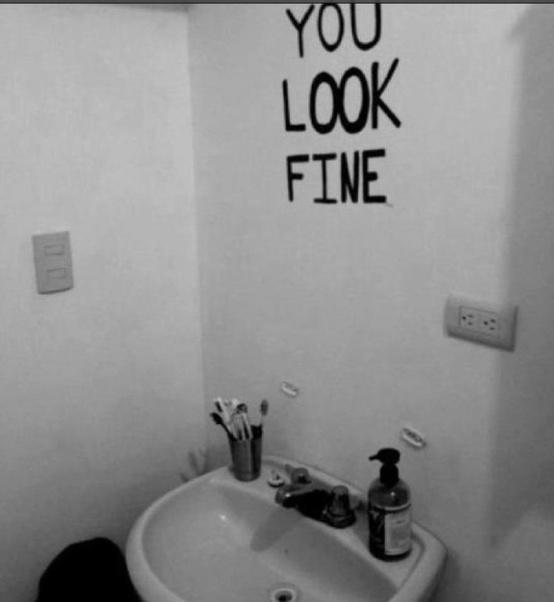 Funny Mirror Photograph