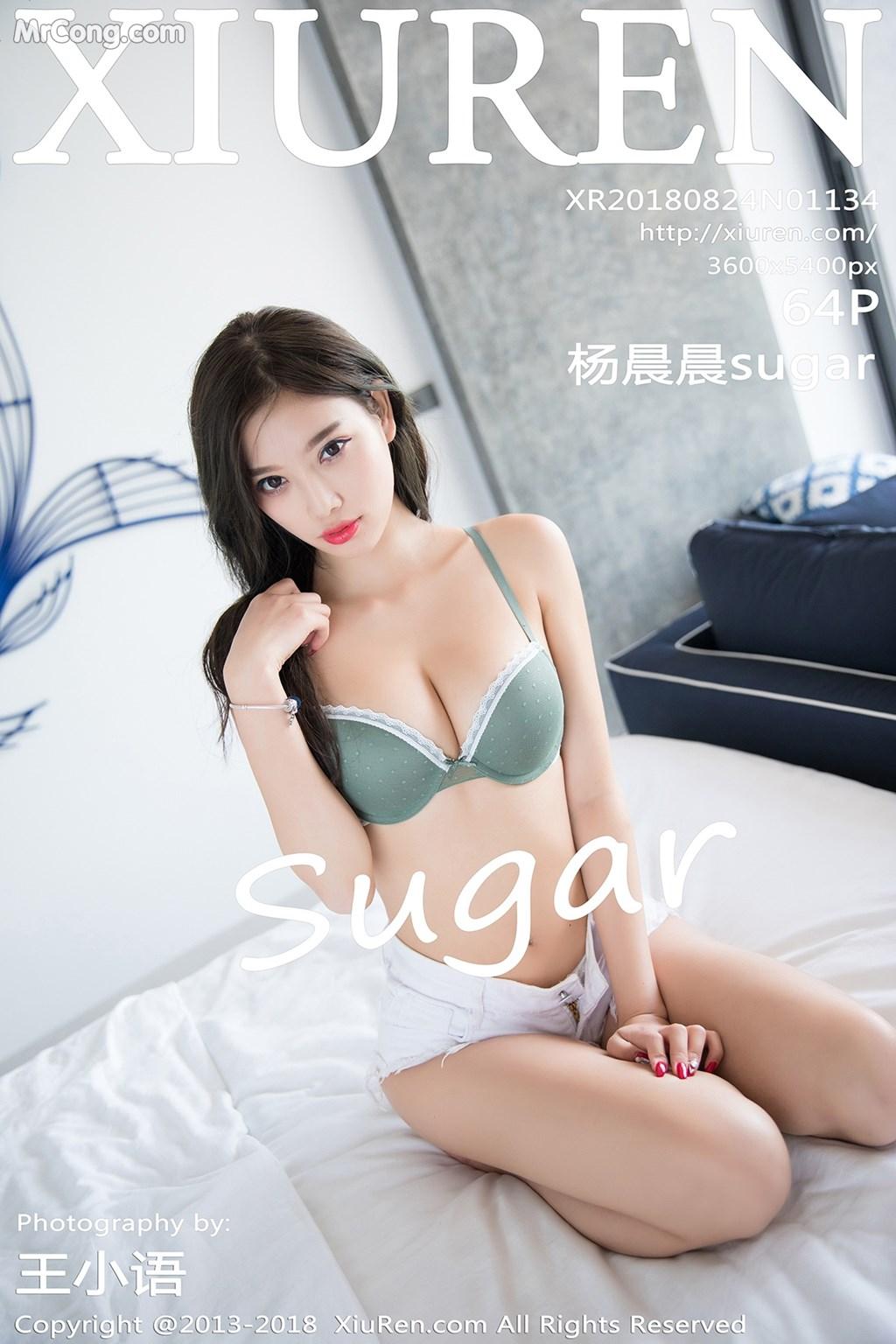 XIUREN No.1134: Người mẫu Yang Chen Chen (杨晨晨sugar) (65 ảnh)