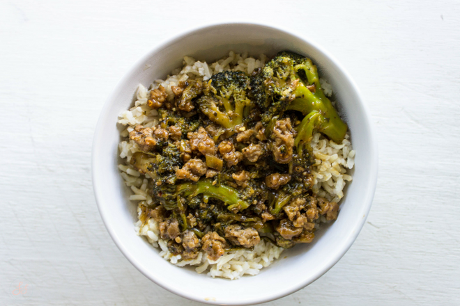 Vegan Gluten Free Beef and Broccoli